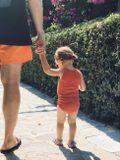 KaiKai Body Tielko pre bábätká Oranžové
