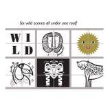 Wee Gallery Kocky Play House Wild Scenes