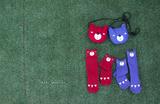 Mini Dressing Podkolienky Bear Modré