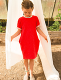 Macarons Crash Strawberry Dress