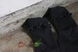 Mini Dressing Podkolienky Broccoli Uhlíkovo-sivé
