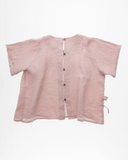 Mouse in a House SS18 Pink Reef Button Top