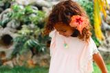 Louise Misha Šaty Bahamas Púdrovo-ružové