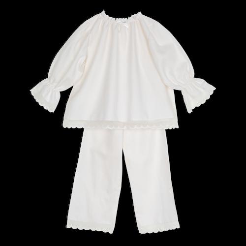 Amiki AW18 Pyžamko Grace Krémové