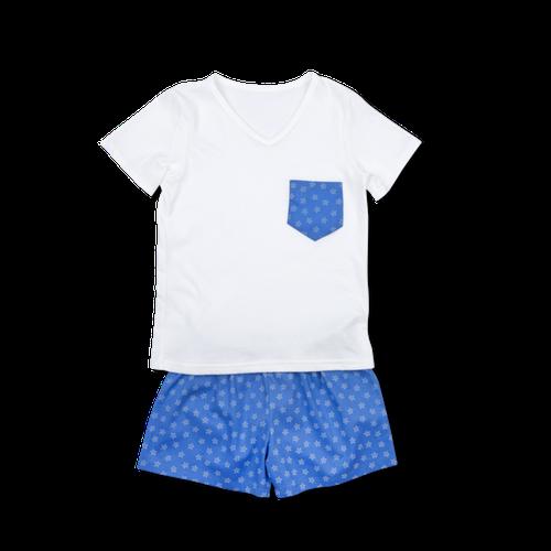 Amiki SS18 Pyžamko Leon Blue Stars