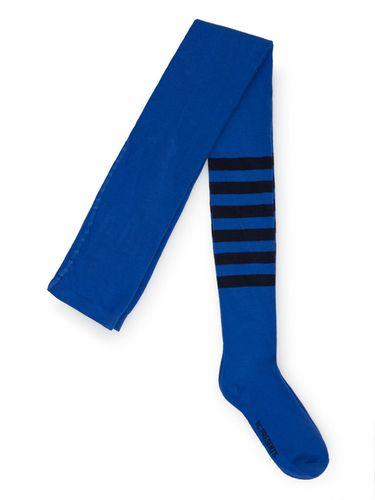 Bobo Choses Pančušky Blue Stripes