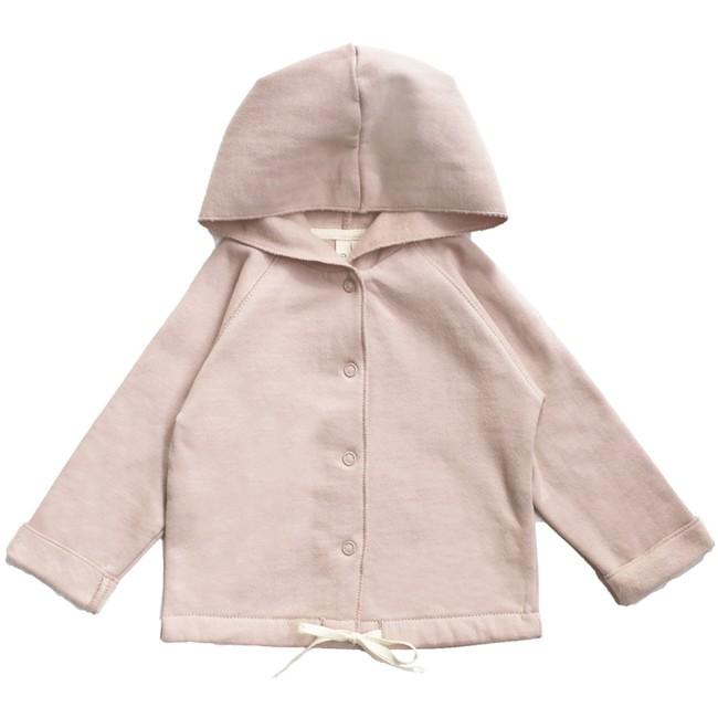 18e85704c Gray Label AW17 Mikina s kapucňou pre bábätká Ružová - www ...