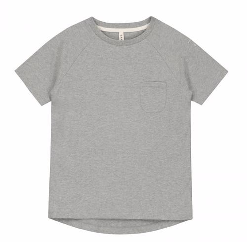 Gray Label SS19 Tričko s Krátkym Rukávom Sivé