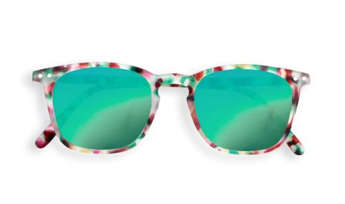 Izipizi AW19 #E Junior Sun Green Tortoise so Zrkadlovými Sklami