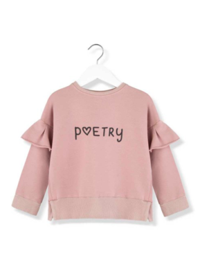 Kids on the Moon AW18 Mikina s Volánikmi Poetry