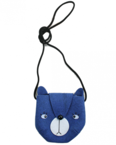 Mini Dressing Kabelka Bear Modrá
