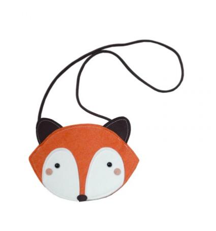 Mini Dressing Kabelka Fox Hnedá