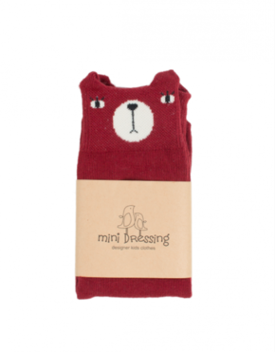 Mini Dressing Podkolienky Bear Červené