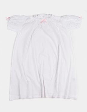 Amiki Nočná Košeľa Vanessa Biela