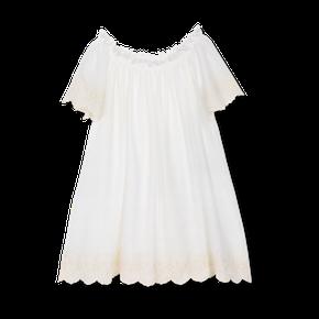 Amiki SS18 Nočná Košeľa Jacqueline Biela