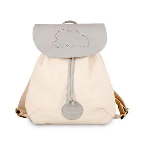 Donsje Kožený ruksak Obláčik