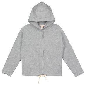 Gray Label AW17 Mikina s kapucňou sivá