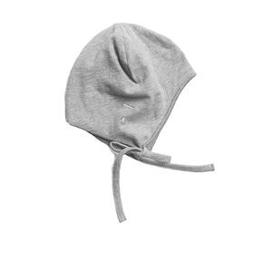 Gray Label AW17 Baby Ćiapka Sivá s Viazačkou