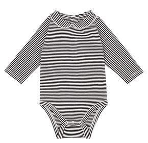 Gray Label Body s Golierikom Prúžkované Bielo-Čierne