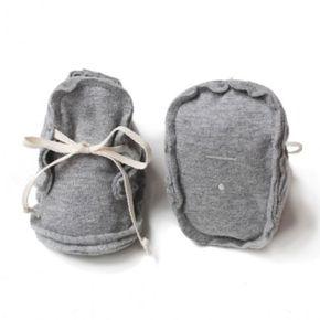 Gray Label AW17 Prvé Topánočky Sivé