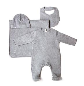 Gray Label Set pre Novorodeniatko Sivý