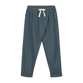 Gray Label SS18 Nohavice Voľného Strihu Modrosivé