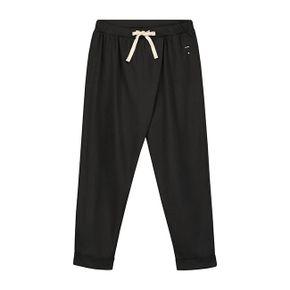 Gray Label SS18 Nohavice Voľného Strihu Takmer Čierne