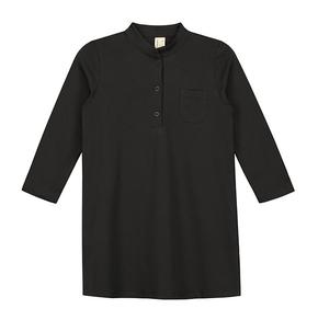 Gray Label SS18 Plážová Košeľa Takmer Čierna