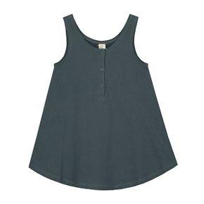 Gray Label SS18 Šaty bez rukávov Modrosivé