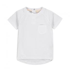 Gray Label Tričko s Krátkym Rukávom Biele