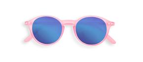 Izipizi #D Junior Sun Jelly Pink so zrkadlovými sklami Limitovaná Edícia