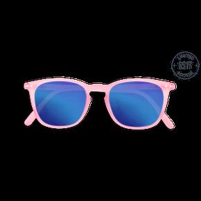 Izipizi #E Junior Sun Ružové so zrkadlovými sklami
