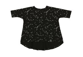 Kukukid AW17 Tunika Black Constellation