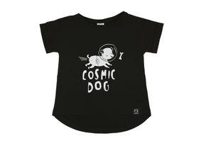 Kukukid AW17 Tričko s Krátkym Rukávom Cosmic Dog