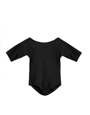 Little Creative Factory Dancers Soft Body s Trojštvrťovými Rukávmi Čierne