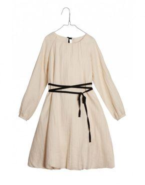 Dámske šaty Little Creative Factory Nostalghia Sack Krémové