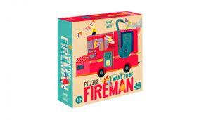Londji AW17 Puzzle 'Chcem byť požiarnikom'
