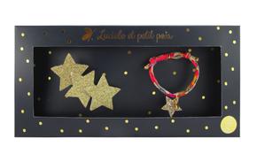 Luciole et Petit Pois Darčeková sada Zlaté Hviezdičky