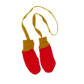 Macarons Rukavičky Mimi Tulipánová Červená