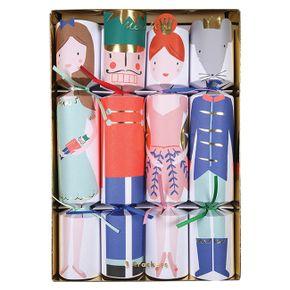 Meri Meri Vianočné balíčky s prekvapením Luskáčik