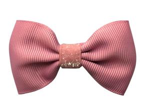 Milledeux Mašľa Malá Ružová - Colored Glitter Collection
