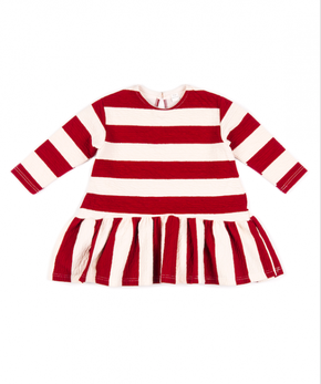 Mini Dressing Bubble Bubble Šaty Tmavočervené