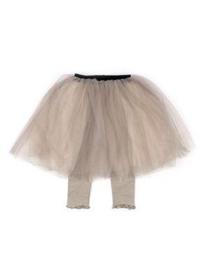 Mini Dressing Tutu sukňa s legínkami Khaki