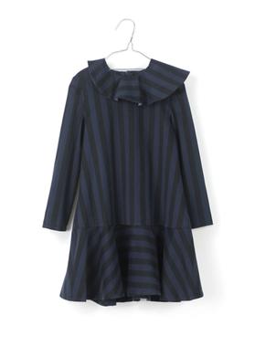 Motoreta Šaty Mia Modro-Čierne