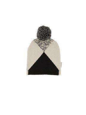 Tiny Cottons Altiplano Čiapka Geometric Čierno-Krémová