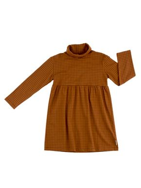 Tiny Cottons Altiplano Šaty s Rolákom Grid