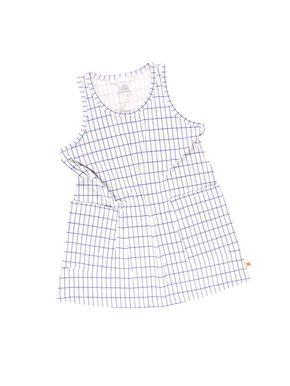 Tiny Cottons Grid Šaty bez rukávov