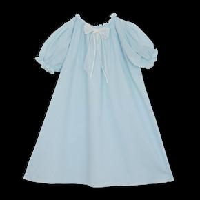 Amiki SS19 Nočná Košeľa Vanessa Antická Modrá