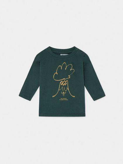 Bobo Choses AW19 Baby Tričko s Dlhým Rukávom Volcano