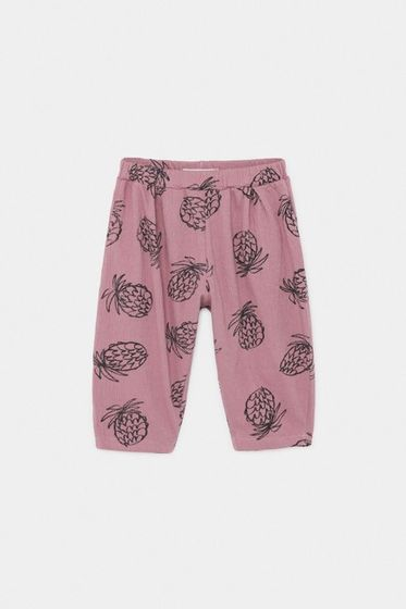Bobo Choses SS20 Nohavice All Over Pineapple Jersey